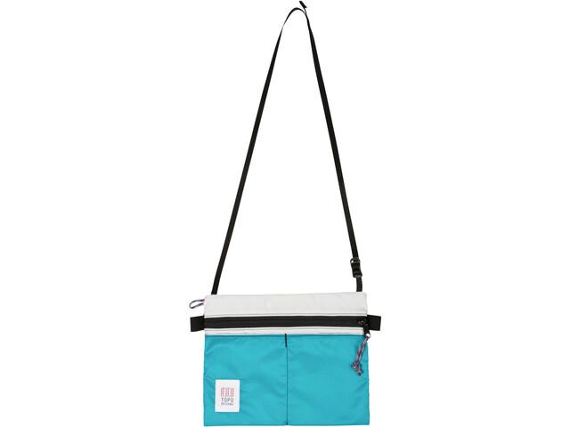 Topo Designs Sac bandoulière Accessoires, white/turquoise